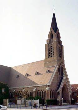 Vue exterieure de l'église