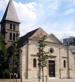 Church vieux St Ouen