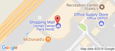 Usines Center Paris Outlet, 134 avenue de la Plaine de France ZI Paris Nord 2 BP 70164, 95500 GONESSE