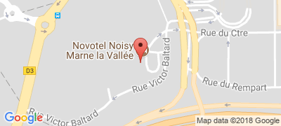 Novotel Marne la Vallée Noisy-le-Grand, 2 allée Bienvenue, 93160 NOISY-LE-GRAND