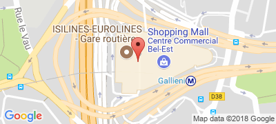 Gare routière internationale de Paris-Gallieni, 28, avenue du Général-de-Gaulle, 93170 BAGNOLET