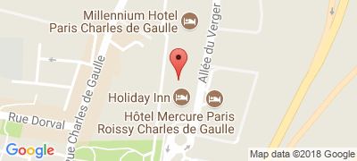 Holiday Inn Paris CDG Airport, 4 allée des Vergers, 95700 ROISSY-EN-FRANCE