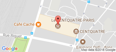 Le CENTQUATRE-PARIS, 5 rue Curial, 75019 PARIS