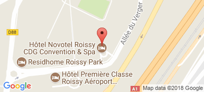 Novotel Roissy CDG Convention & Spa, 10 allée du Verger, 95700 ROISSY-EN-FRANCE