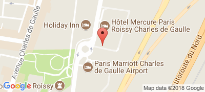 Sheraton Paris Airport Hotel & Conference Centre, Aerogare Terminal 2 BP 35051, 95700 ROISSY-EN-FRANCE