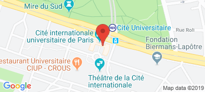 Cité Universitaire, 17 boulevard Jourdan, 75014 PARIS