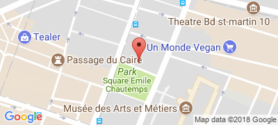 Little Palace Hotel, 4 rue Salomon de Caus, 75003 PARIS