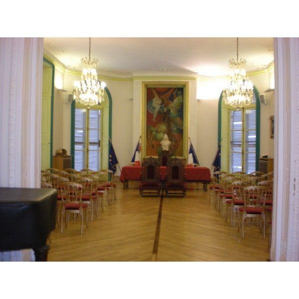 restauration de la salle des mariages de l h 244 tel de ville d epinay sur seine seine denis