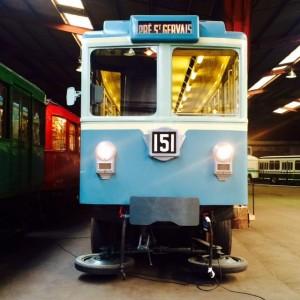 A la  découverte du patrimoine roulant de la RATP