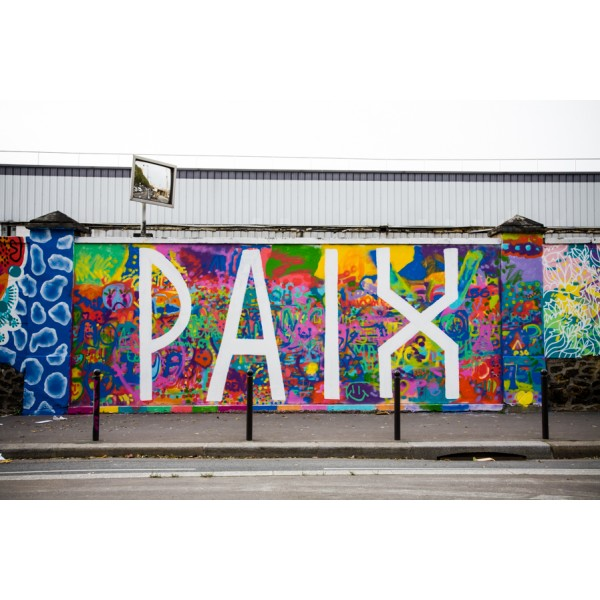 le mur rosa parks la plus longue fresque street art de paris seine saint denis tourisme. Black Bedroom Furniture Sets. Home Design Ideas