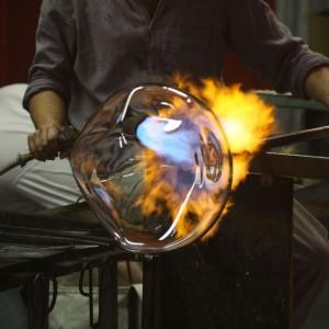 Démonstration des métiers du verre - Lancement de l'Université Populaire d'Est Ensemble