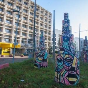 D'un lieu d'exposition à l'autre à Saint-Denis, l'ADADA, la Galerie HCE et le 6b