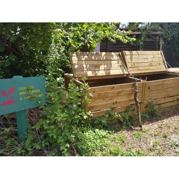 Atelier gratuit compostage for Autour du jardin