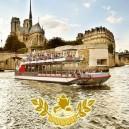 """Croisière """"Goûter de Noël"""" sur le Canal Saint-Martin et la Seine"""