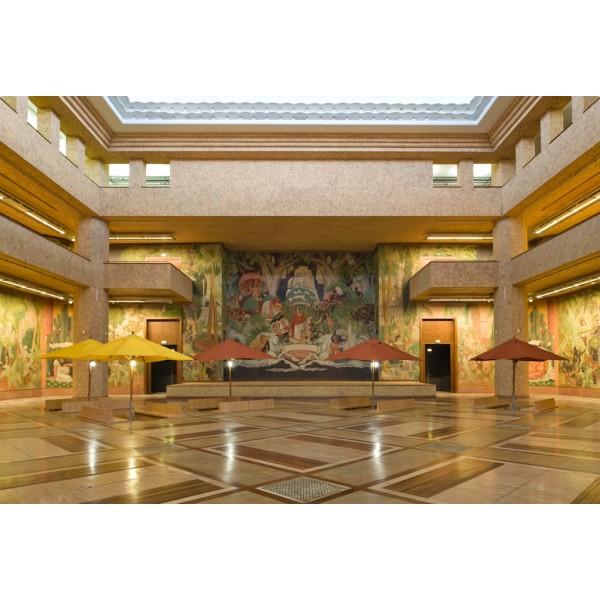 Visite palais de la porte dor e exposition coloniale - L encadrure de la porte ...